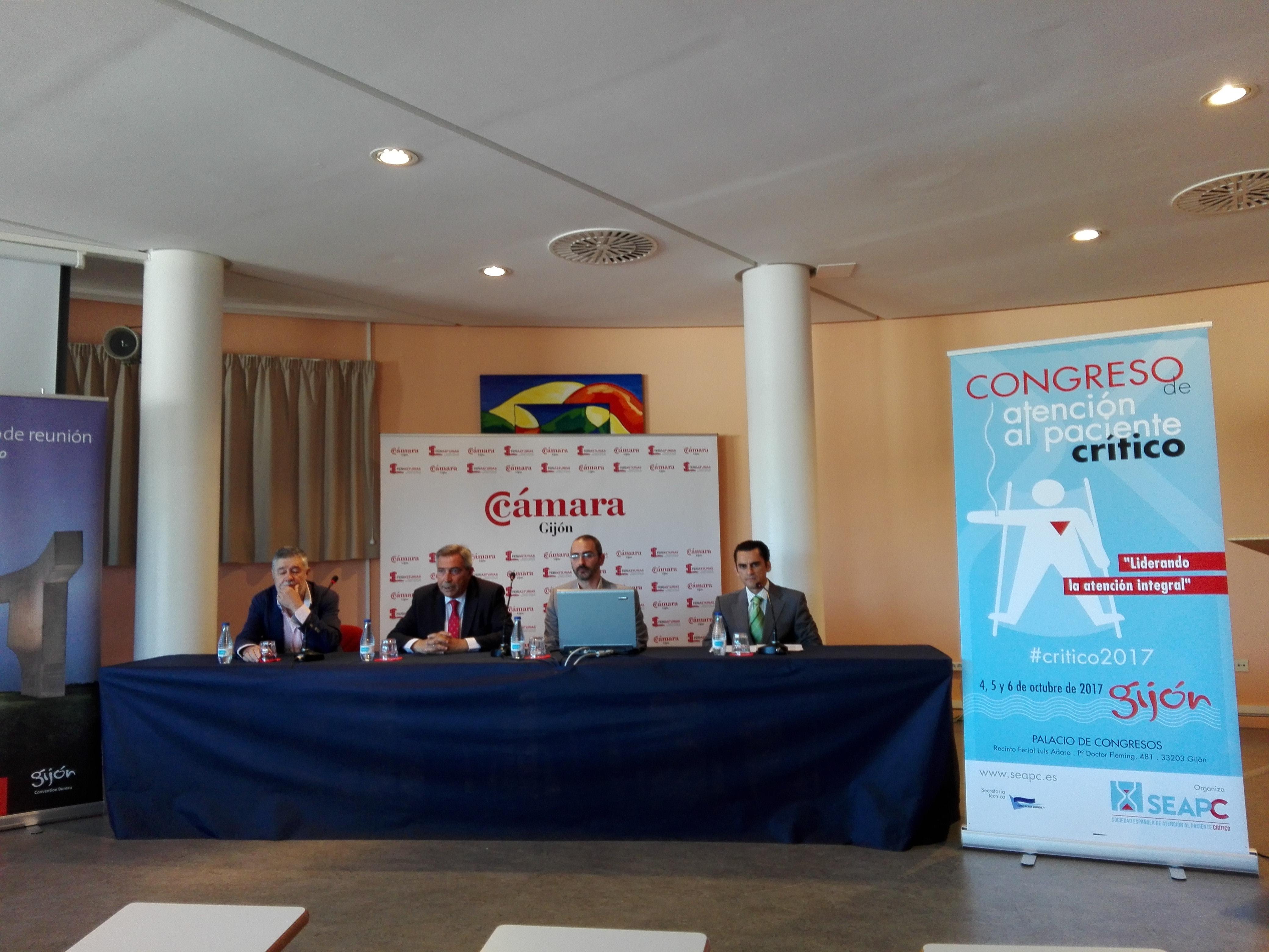 PRESENTACIÓN DEL CONGRESO DE ATENCIÓN AL PACIENTE CRÍTICO 2017