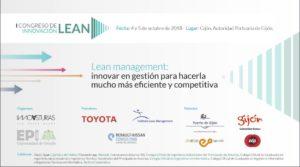 I Congreso de Innovación LEAN