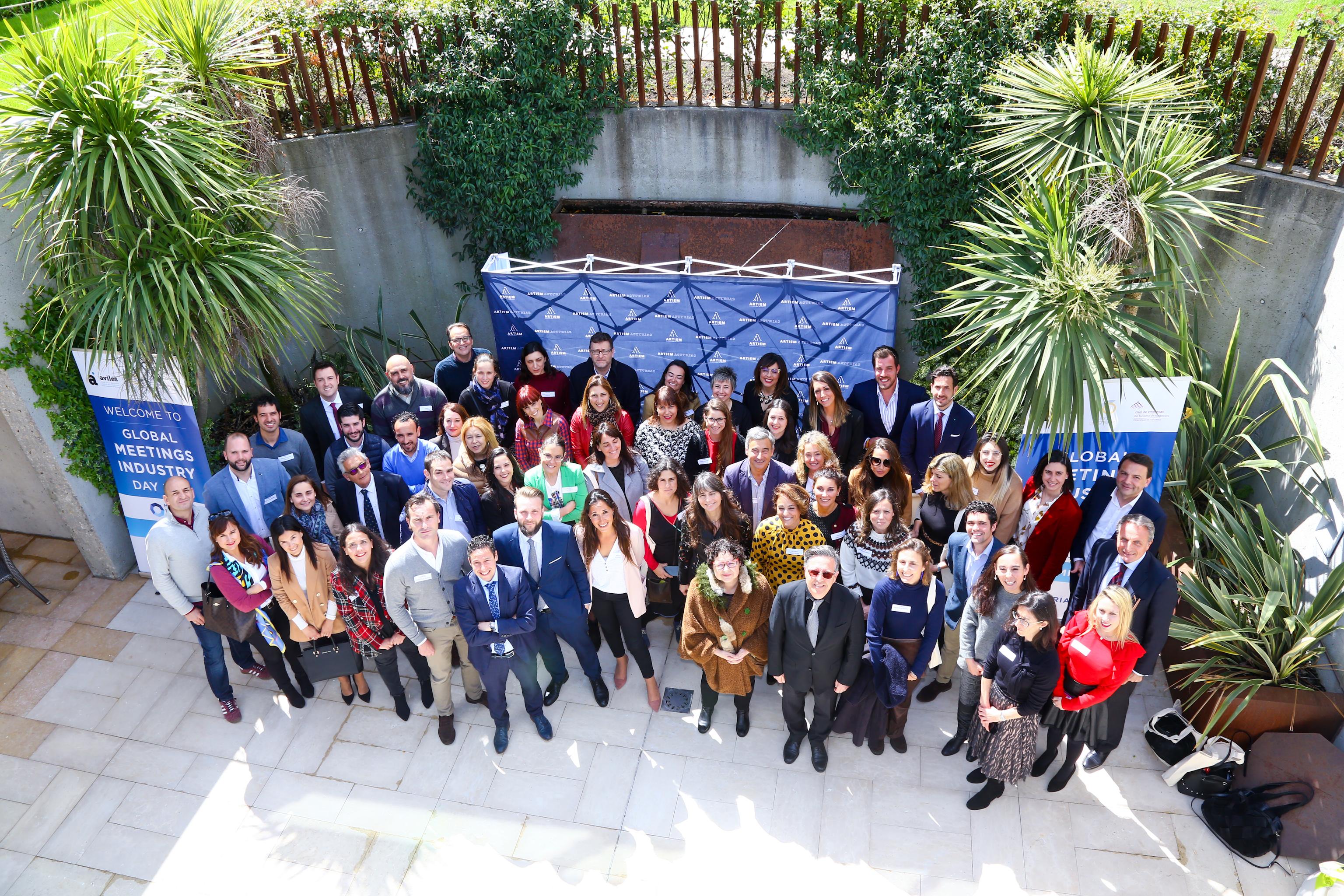 CELEBRACIÓN EN ASTURIAS DEL GLOBAL MEETINGS INDUSTRY DAY 2019